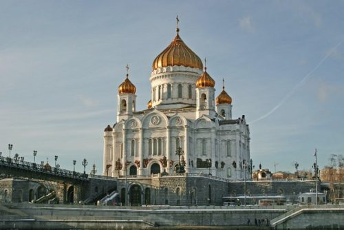 The Cathedral of Christ the Savior is the cathedral of the Russian Orthodox Church in Moscow. Russia most popular sites