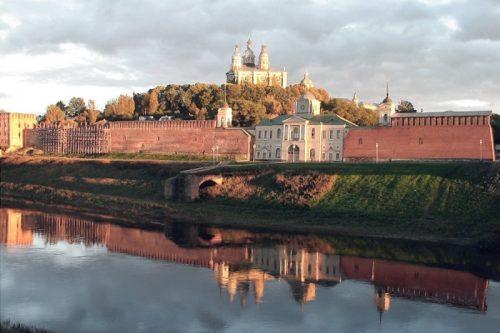 Smolensk fortress wall. Russia most popular sites
