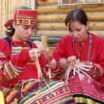Learning folk crafts