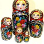 Russian Patchwork dolls by Marina Mishina