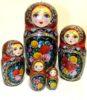Understanding Russian Matryoshka. Painted by Yekaterina Karpovich