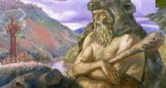 Blue Stone Sin-Kamen. Pagan times
