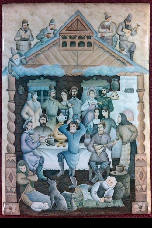 Enamel art in the Museum of Rostov finift of the Rostov Kremlin