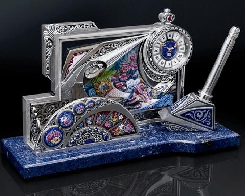 Enamel art masterpiece at auction in the Rostov Kremlin