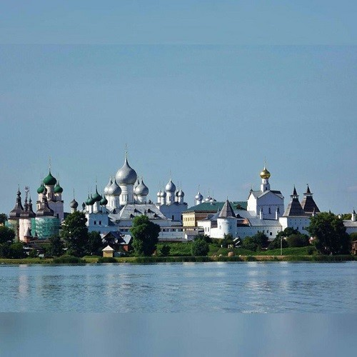 Panoramic view of the Rostov Kremlin