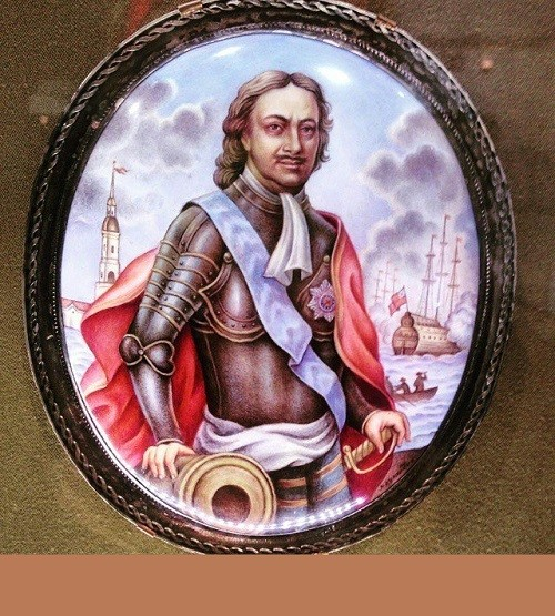 Peter the Great. Museum of finift (enamel) in the Rostov Kremlin