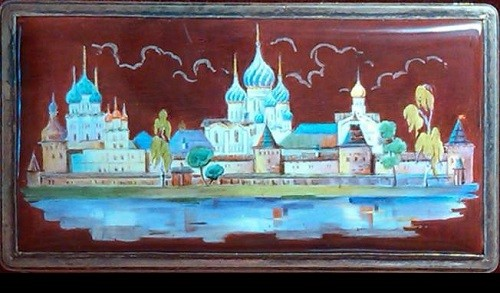 The Rostov Kremlin in enamel