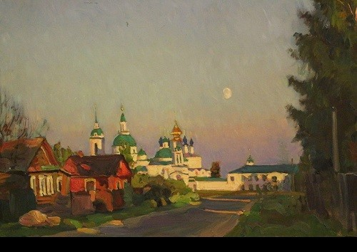 The Rostov Kremlin in painting