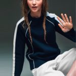 Russian model Milena Korobeynikova