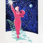 New Year's greeting card inspired by space achievements of the Soviet Union (2)