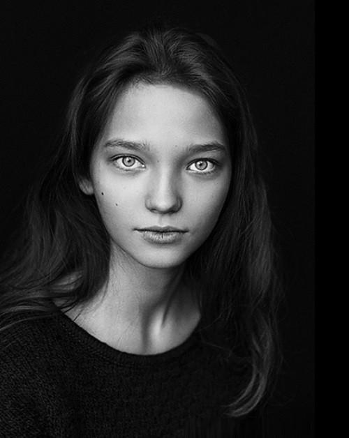 Pretty promising model Milena Korobeynikova
