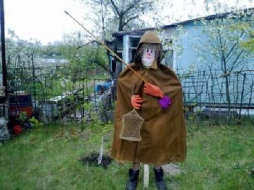 Scarecrow – fisherman