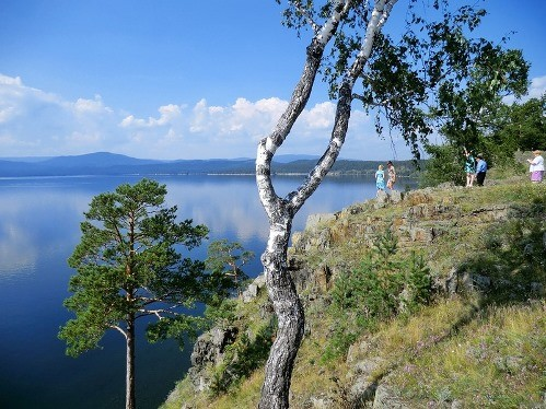 Russia second cleanest Lake Turgoyak
