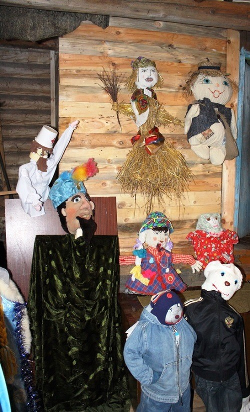 The first museum of scarecrow in Russia, Yuzhsky district, Ivanovo region