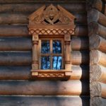 Wooden lace of Russian architecture
