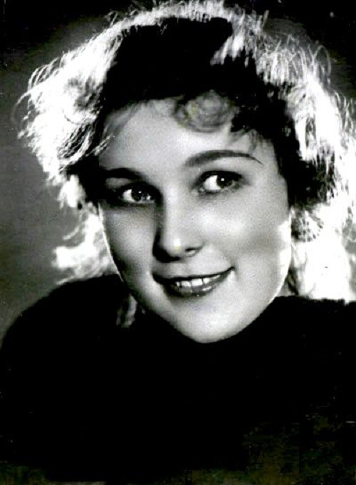 Russian actress Vera Vasilyeva