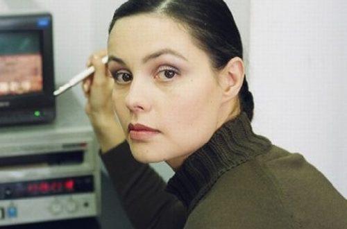 News presenter Yekaterina Andreyeva