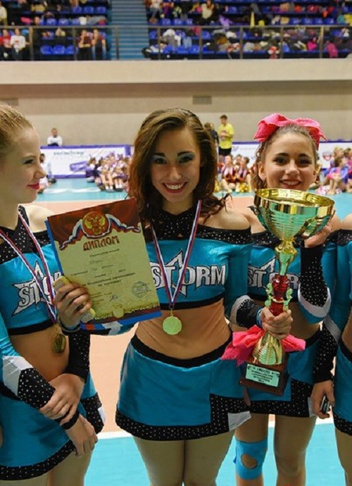St. Petersburg federation of cheer-leading December