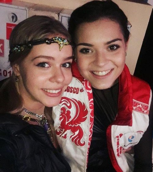 With incomparable and only Adelina Sotnikova