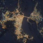 Russian night cities From Space