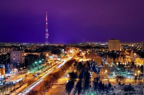 Tambov at night