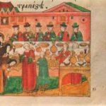 Old Russian miniature book