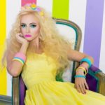 Russian Barbie Valeria Lukyanova left Ukraine