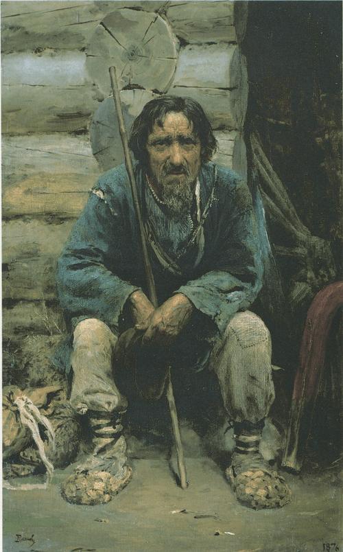 Bylinas Teller Nikita Bogdanov. 1876. Vasily Polenov