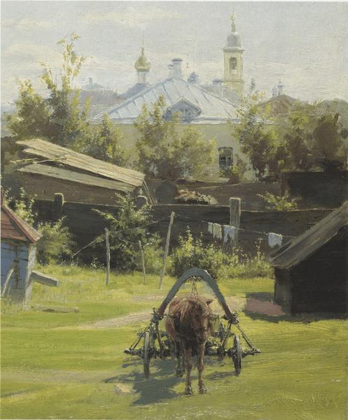 Moscow Backyard. Detail