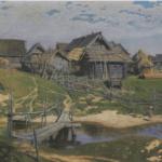 Russian Village (Northern Village). 1889