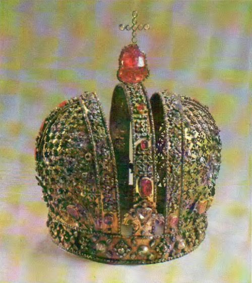 Crown. Russia. 1730