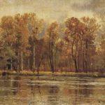 Russian folk arts Golden Khokhloma
