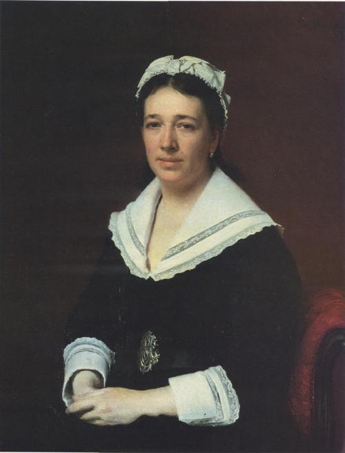 Portrait o f Vera Tretyakova. 1876