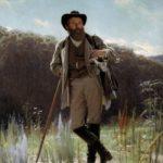Great Russian painter Ivan Kramskoy