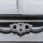 The bottom part of a window casing (Sverdlov str., 44)