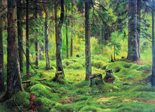 Russian painter Ivan Shishkin