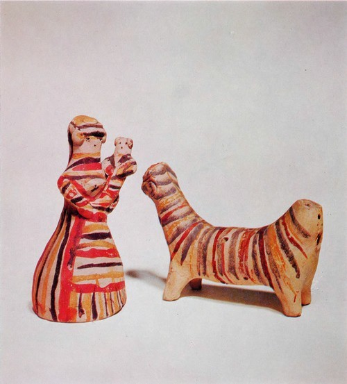 Russian Traditional Folk Clay Toys