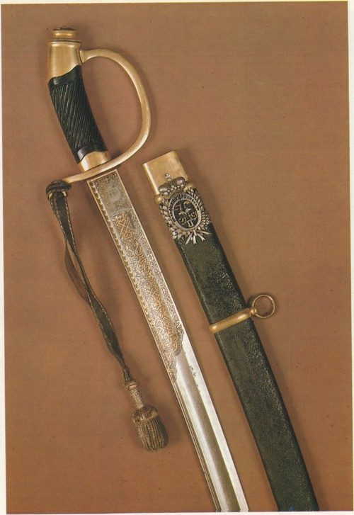 Light sabre, model 1881. Presentation officer's weap­on. 1883