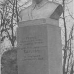 Soviet sculptor Sergey Orlov