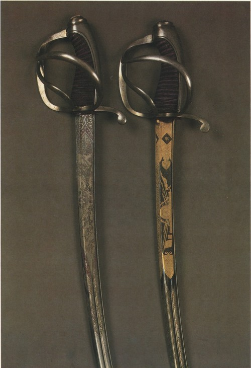 Edged weapons from Zlatoust 19th Century