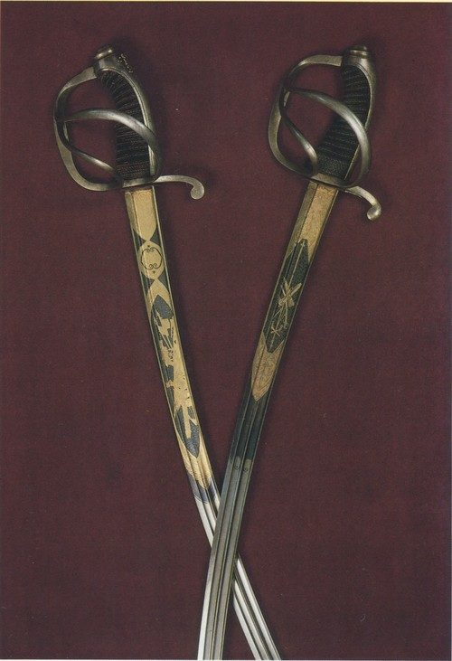 The Life-Guards Hussar Regi­ment of Grodno. 1840s 44—46. Cavalry officer's sabre, model 1817. By W. and L. Schaaf (?). 1820