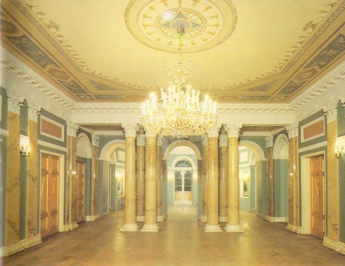 Big hall. Arch. A.Vaitens, A. Beloborodov. Art. S.Chekhonin, 1910.
