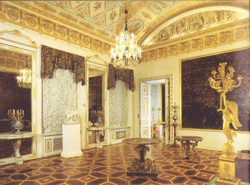 Blue reception-room. Russian cultural heritage The Yusupov palace