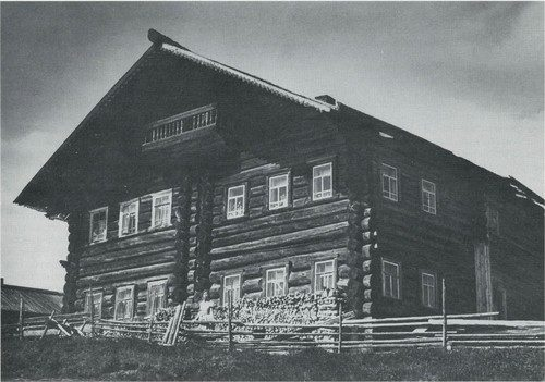 Makeyev's house in the village of Parfyonovskaya