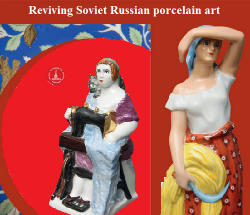 Reviving Soviet Russian porcelain art