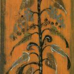 Russian Folk wood-painting