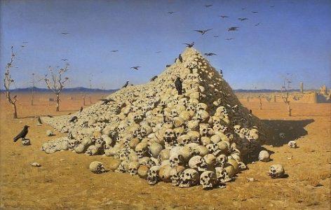 Apotheosis. Russian artist Vasily Vereshchagin