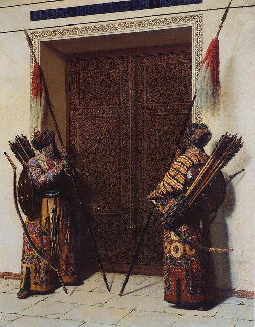 Doors of Timur (Tamerlane). 1872
