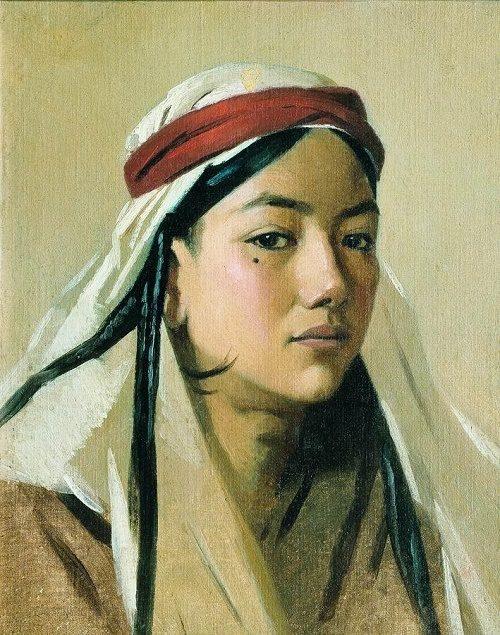 Portrait of a bacha (boy)