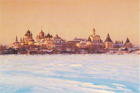 Panorama of the Kremlin, 16-18 centuries